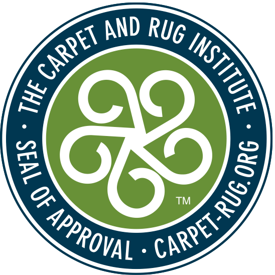 seal of approval by the carpet and rug institute