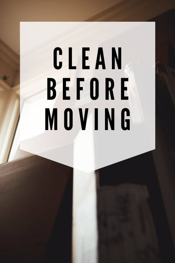 clean before moving in new house